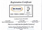 ISO质量体系认证报告